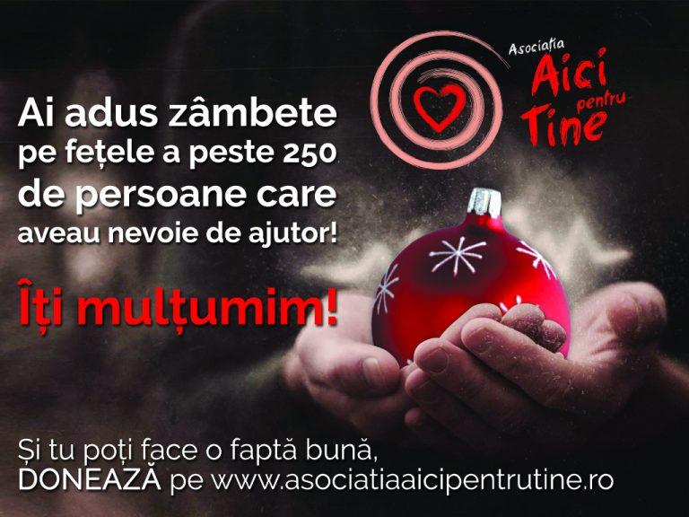 """Campania """"Împreună de Sărbători"""" 2017, la final"""