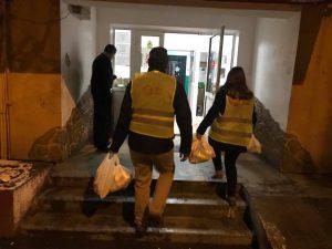 În vizită la Centrul pentru persoane fără adăpost!