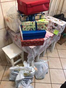 Noi cadouri și pachete cu alimente, livrate către beneficiari ai Asociației!