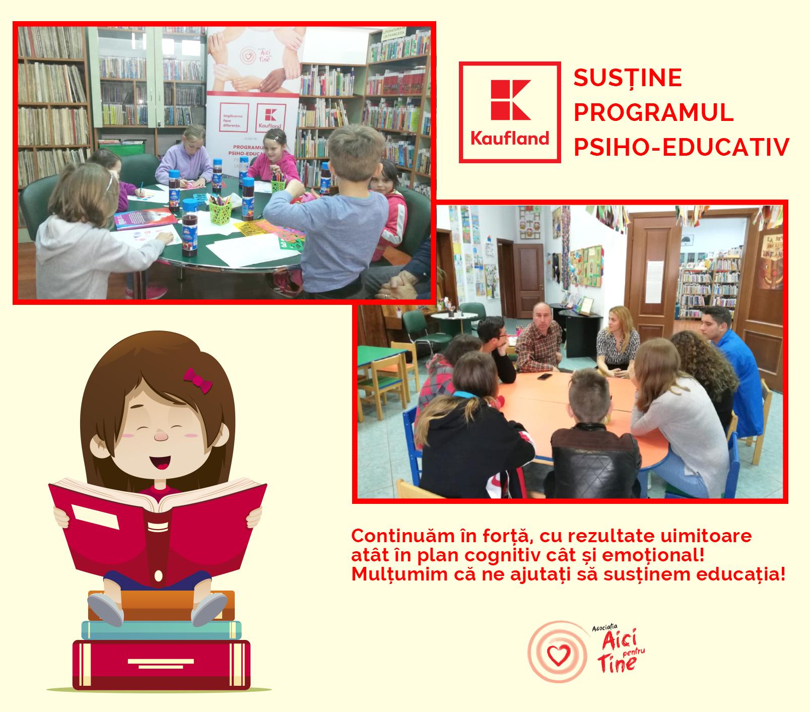 Programul psiho-educativ al asociației pentru copii între 6 și 18 ani